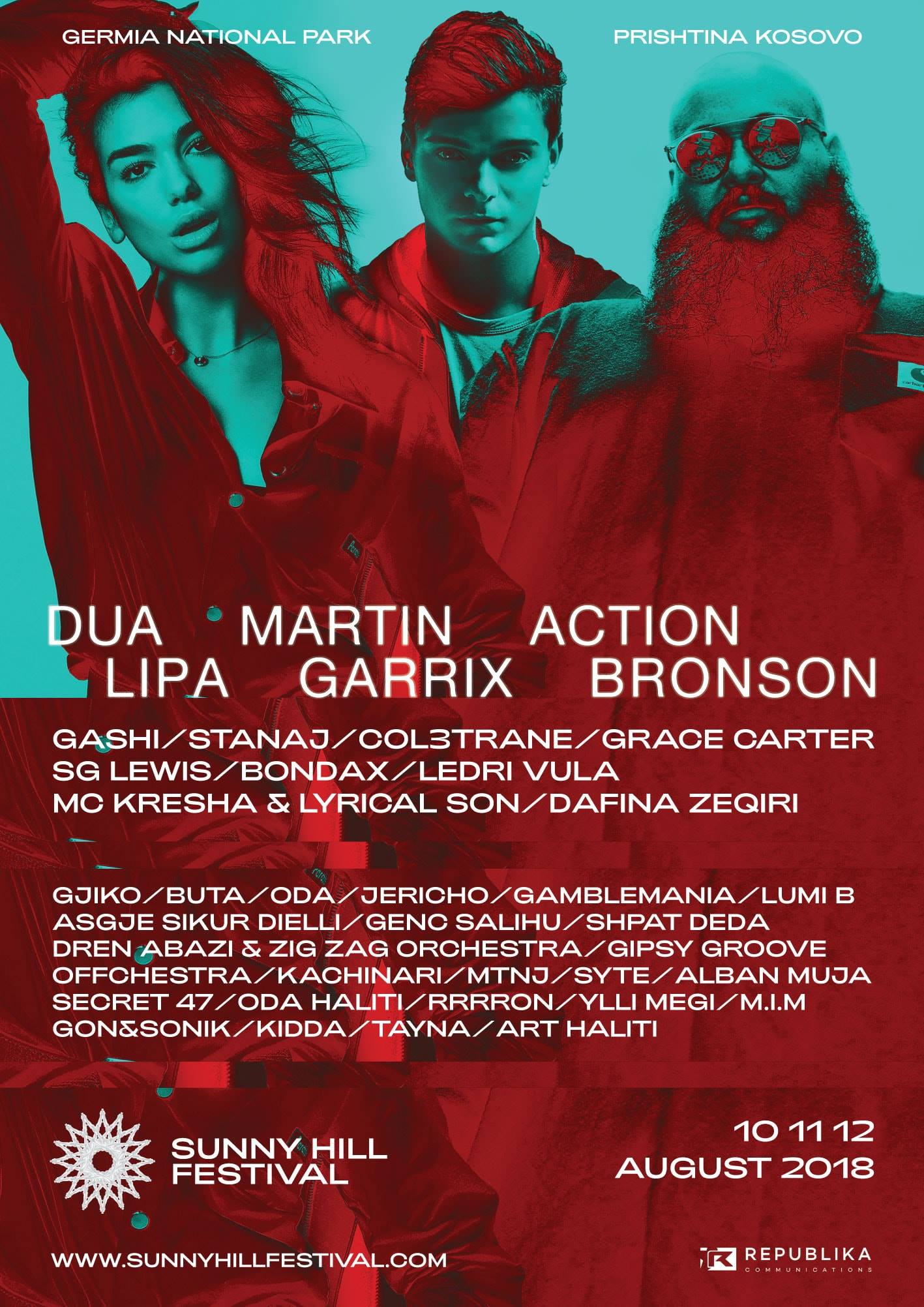 Summer festival gets together music galactic stars Dua Lipa, Action Bronson & Martin Garrix, with Last2ticket event management tools.
