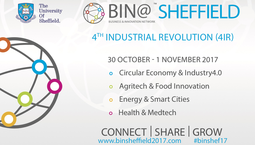 Last2Ticket is responsible for attendees registration management for Bin@Sheffield event